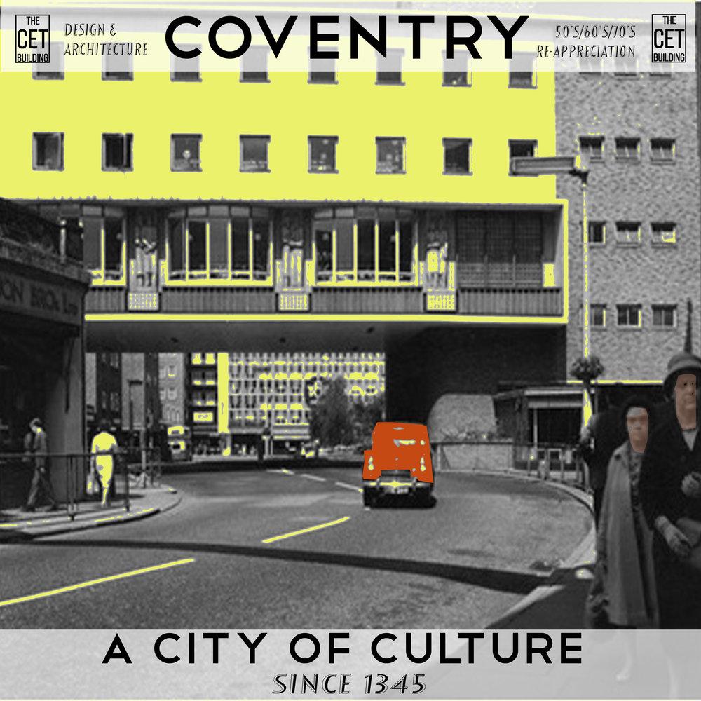 hertford st coventry 1960