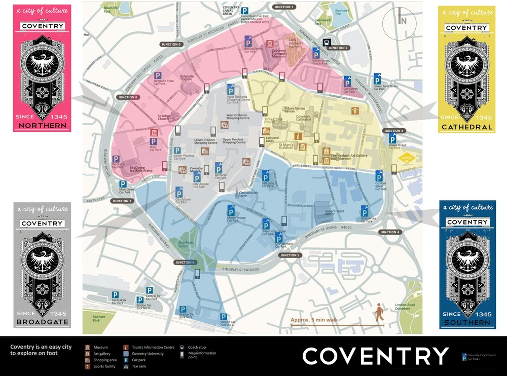 Coventry Visitors Map 2017