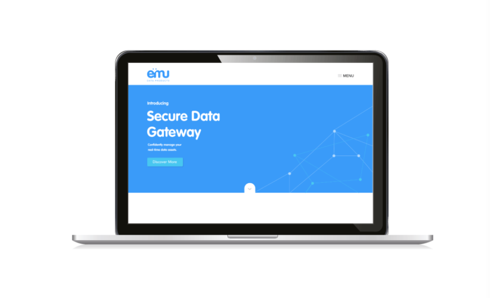 Website design for Emu Data Products