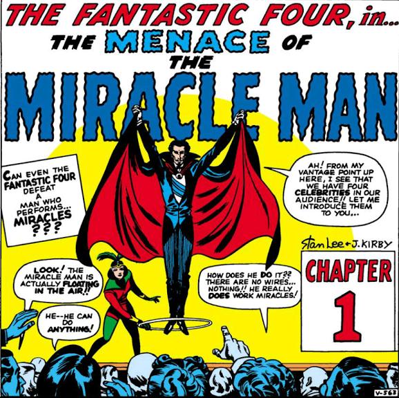 From Fantastic Four #3 by Stan Lee, Jack Kirby, Sol Brodsky, Stan Goldberg, and Artie Simek