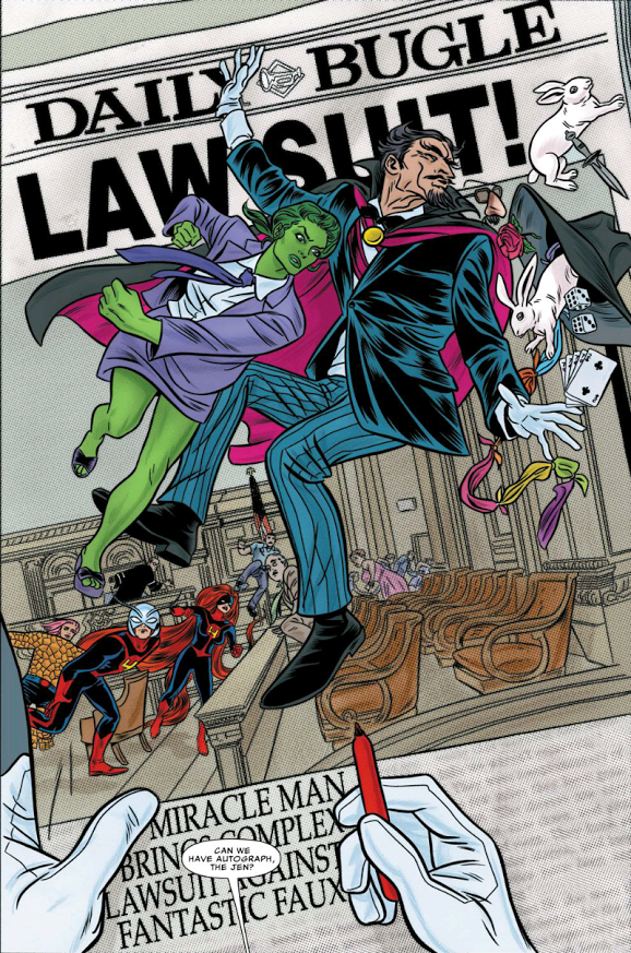 From FF #4 by Matt Fraction, Mike Allred, Laura Allred, and Clayton Cowles