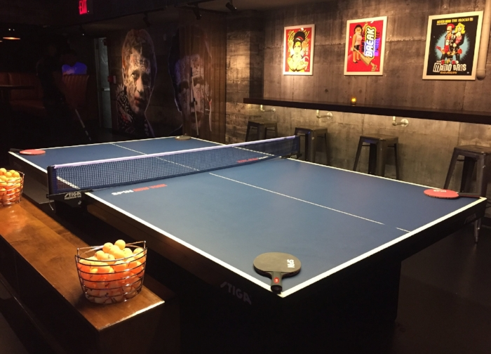 ping pong table spin ny