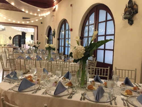 Douglaston Manor wedding reception