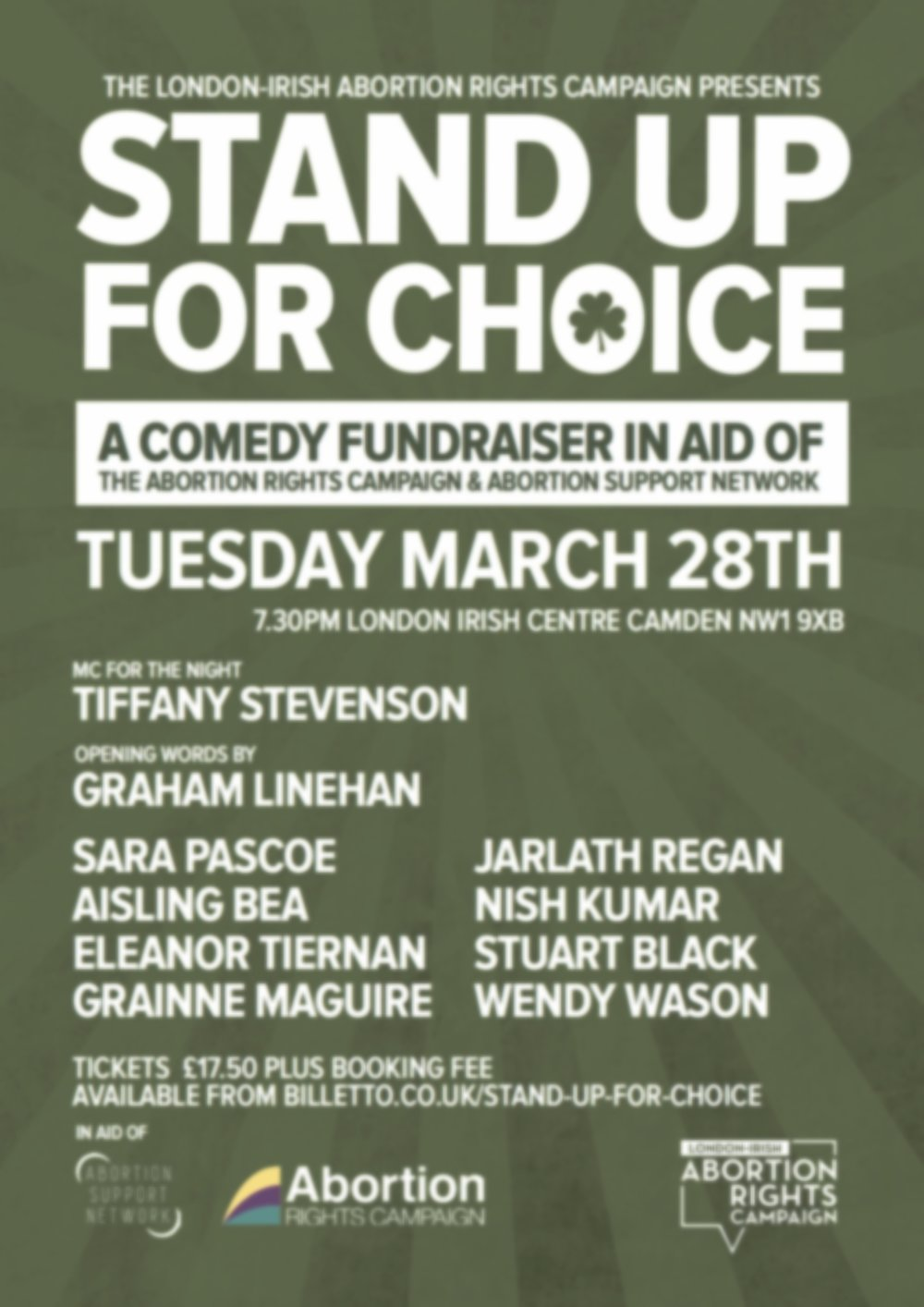 Graham Linehan invited to speak at comedy event to support Stand Up For Choice
