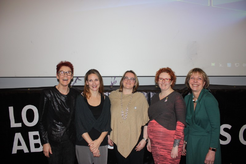 (L-R) Ailbhe Smyth (Coalition to Repeal the Eighth Amendment), Dr. Leah Desmond (Doctors For Choice), Fiona de Londras (Global Legal Studies, University of Birmingham) Emma Campbell (Alliance for Choice) and Ann Furedi ( BPAS )