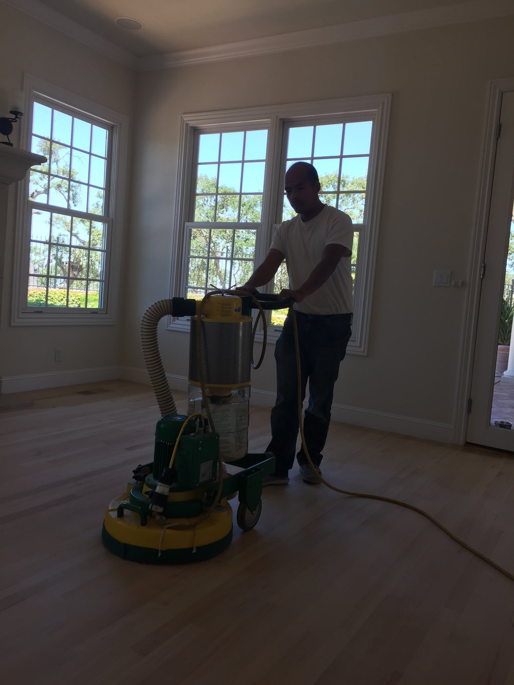Using our special dustless system we insure that your home or business will be clean and dust free for the duration of our work