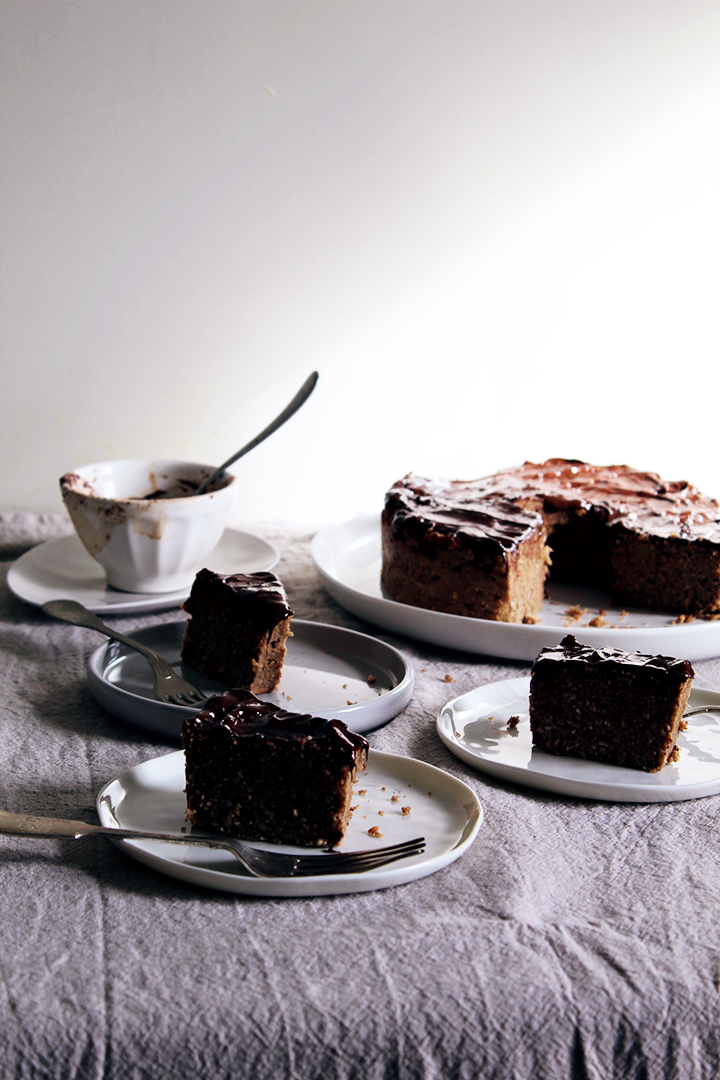 breakfast cake (flourless)