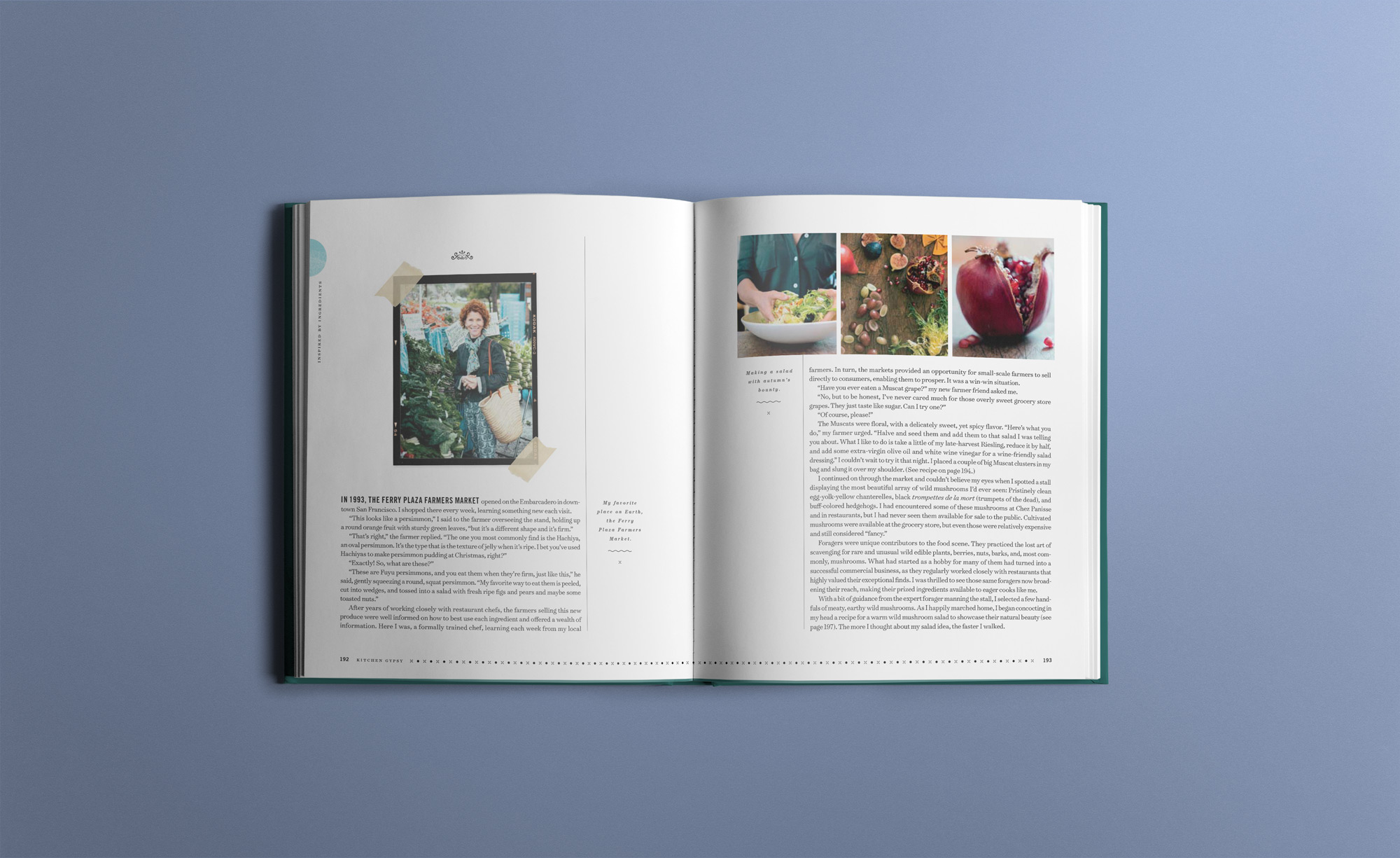 Kitchen Gypsy Book Design — Knell & Co.