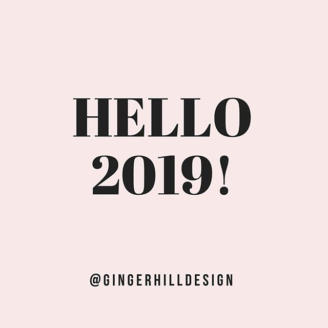 Hello 2019! - I can't believe we're already 10 days in! 😮 Have you set some goals and intentions for the year? - Top-level athletes, successful businesspeople and achievers in all fields all set goals. Setting goals gives you long-term vision and short-term motivation. It focuses your acquisition of knowledge, and helps you to organize your time and your resources so that you can make the most of your life and personal growth. - By setting sharp, clearly defined goals, you can measure and take pride in the achievement of those goals, and you'll see forward progress in what might previously have seemed a long pointless grind. You will also raise your self-confidence, as you recognize your own ability and competence in achieving the goals that you've set.  I keep hearing from clients and friends how ready they are to make bold moves this year. I know I am!  Let's do this! - Ginger #2019goals #brandingagency #gingerhilldesign #elevatingbrands #sandiego #encinitas #leucadia #graphicdesigner