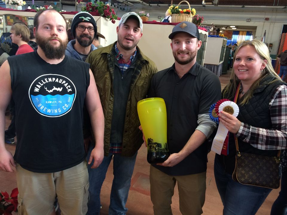 "Read about the big win for Hop Barons and Wallenpaupak's collaboration brew ""Wet Hop Farmhouse Ale' at the 2019 PA Farm Show."