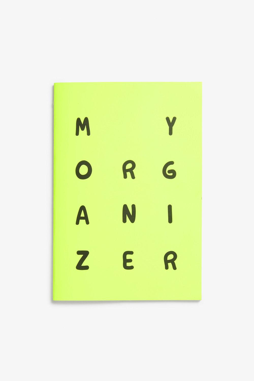 Notatblokk fra Monki.