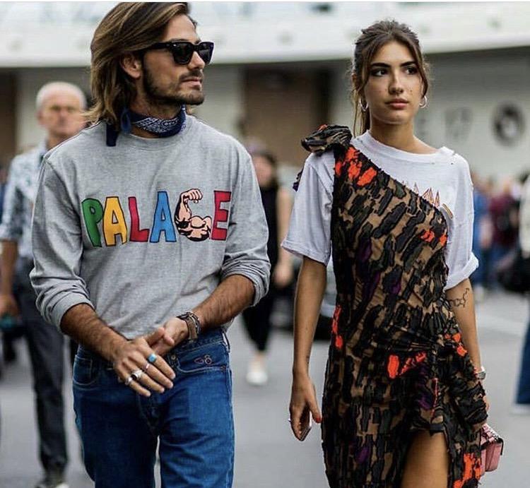 Street style duoen Patricia Manfield og Giotto Calendoli