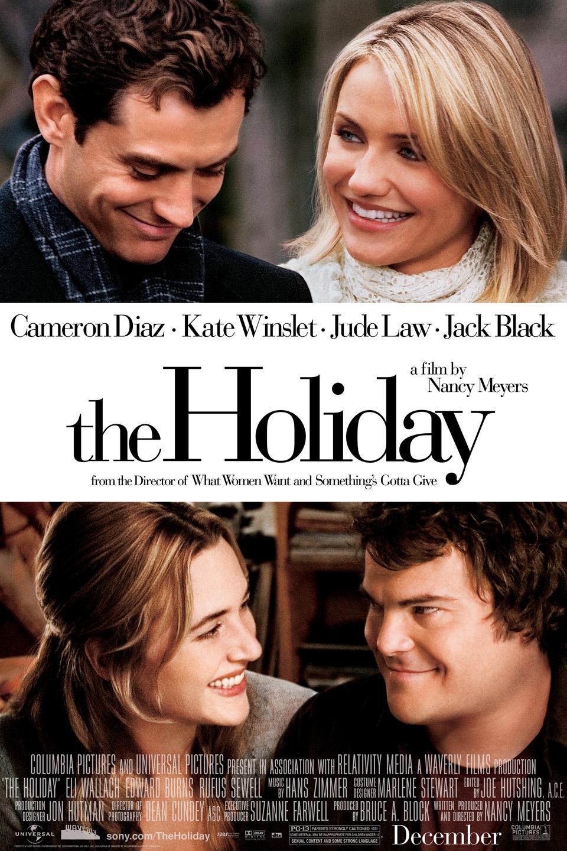 The holiday er en god film å se med gode venner og en kopp kakao.