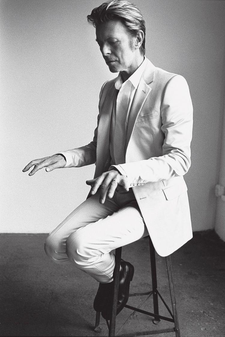 David Bowie av Mario Testino