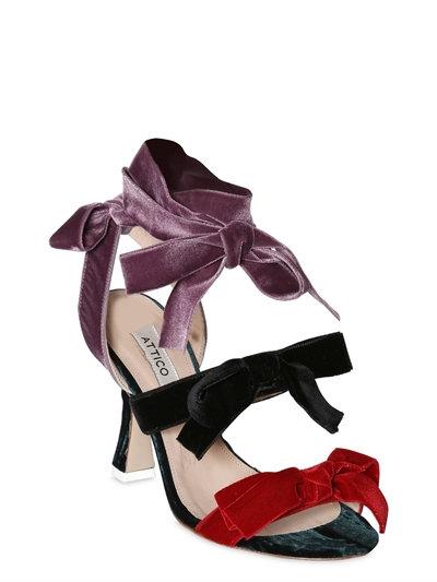 Diellla Sandals W/velvet bows