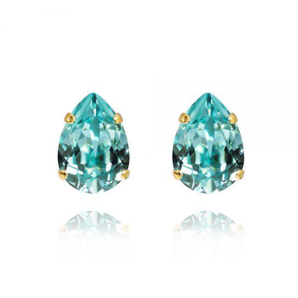 Mini drop stud earrings.