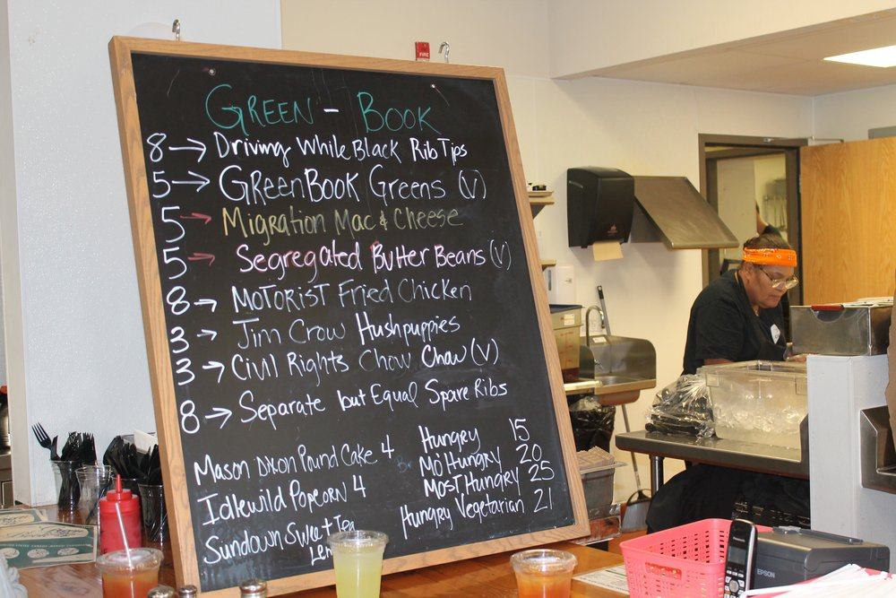 The menu for the Onyx Culinary Collective's September pop-up meal offered soul food and a history lesson.