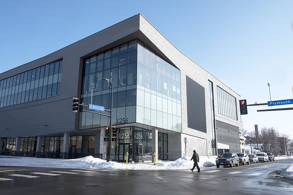 Thor's headquarters are located inside the Regional Acceleration Center, a building the company constructed at the Penn and Plymouth intersection last year.  Photo by David Pierini