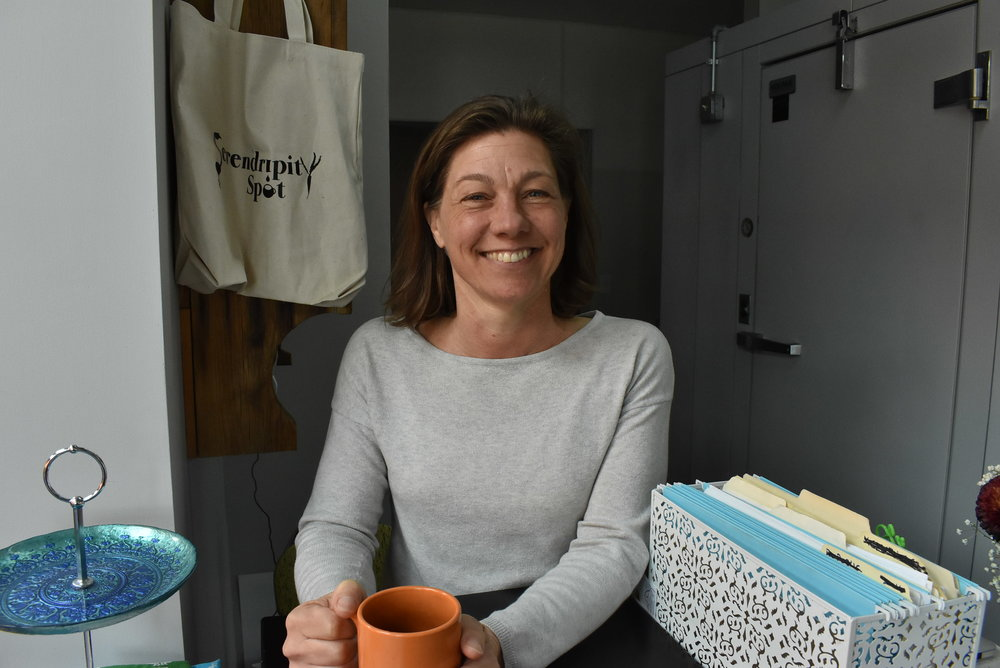 Kelley Skumautz founded Serendripity Spot in June 2016. The business has been located inside a building owned by the McKinley Community neighborhood association.  Photo by Cirien Saadeh