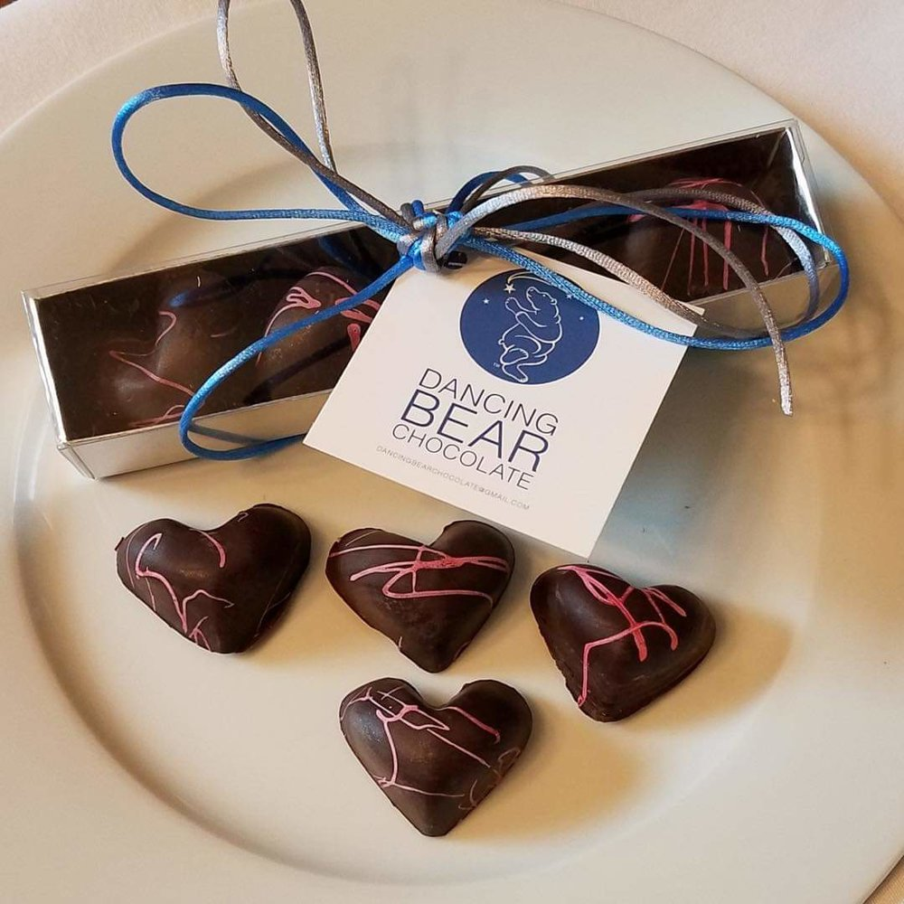 Dancing Bear Chocolate was started in Jan. 2018 by husbands Joe Skifter and Steven Howard. The Northsiders have sold their artisan chocolate online and through wholesale, as well as via pop-ups, but recently took the leap and signed a purchase agreement for a property on 44th and Thomas, that has a long and interesting history in the neighborhood. Photos courtesy of Dancing Bear Chocolate
