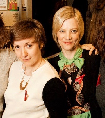 With  Lena Dunham  at  A is for ASSSSCAT , an A is For benefit at  Upright Citizens Brigade