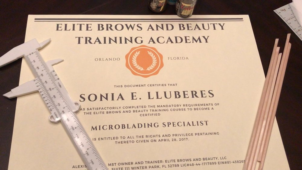 Elite Brows And Beauty Training