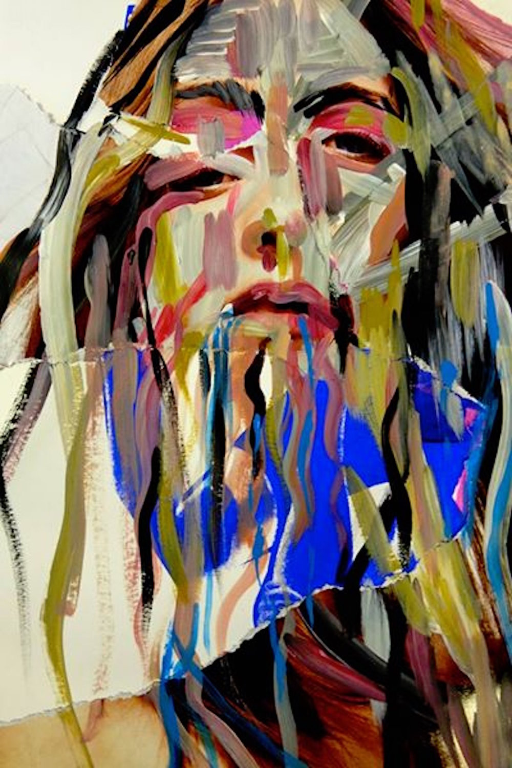 Crystal 2015, Painting  Susan Supercharged Acrylic on Paper