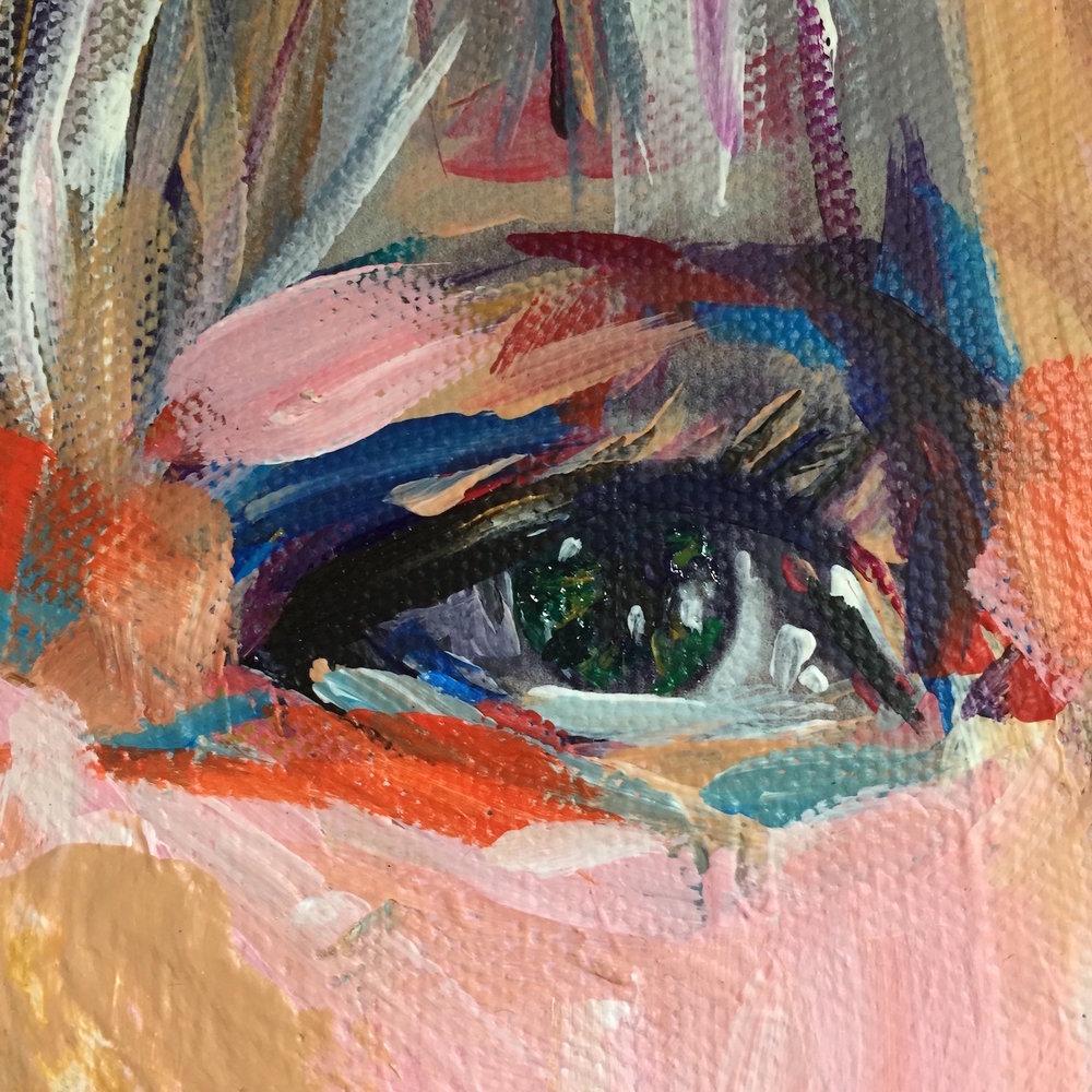 Caroline K's eye 2015