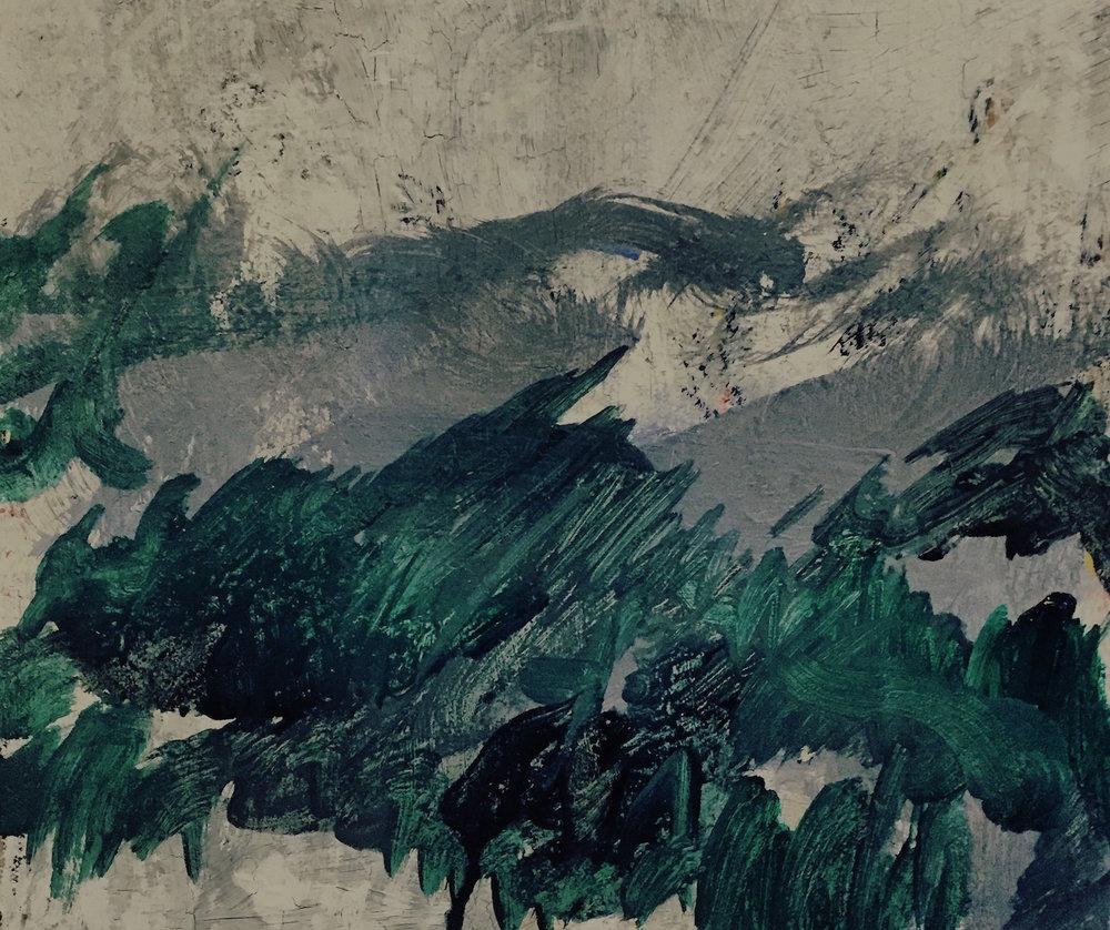 Glencoe, Oil on Canvas, 2015