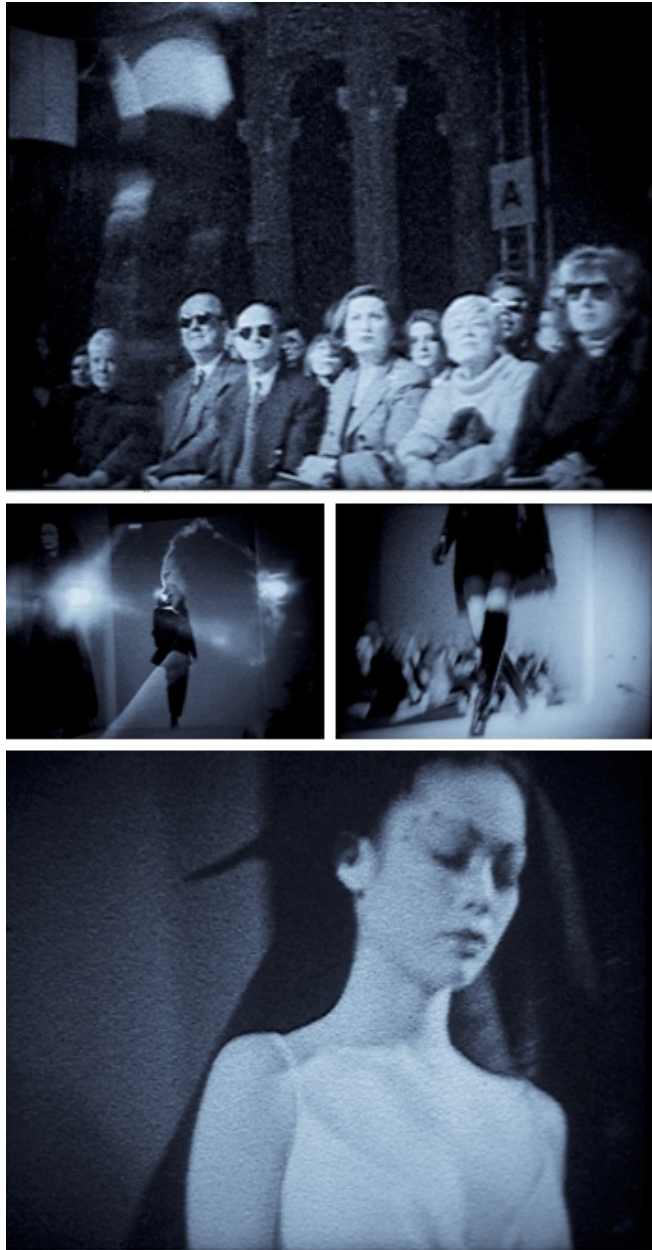 Film Stills from Super 8 Fashion Films