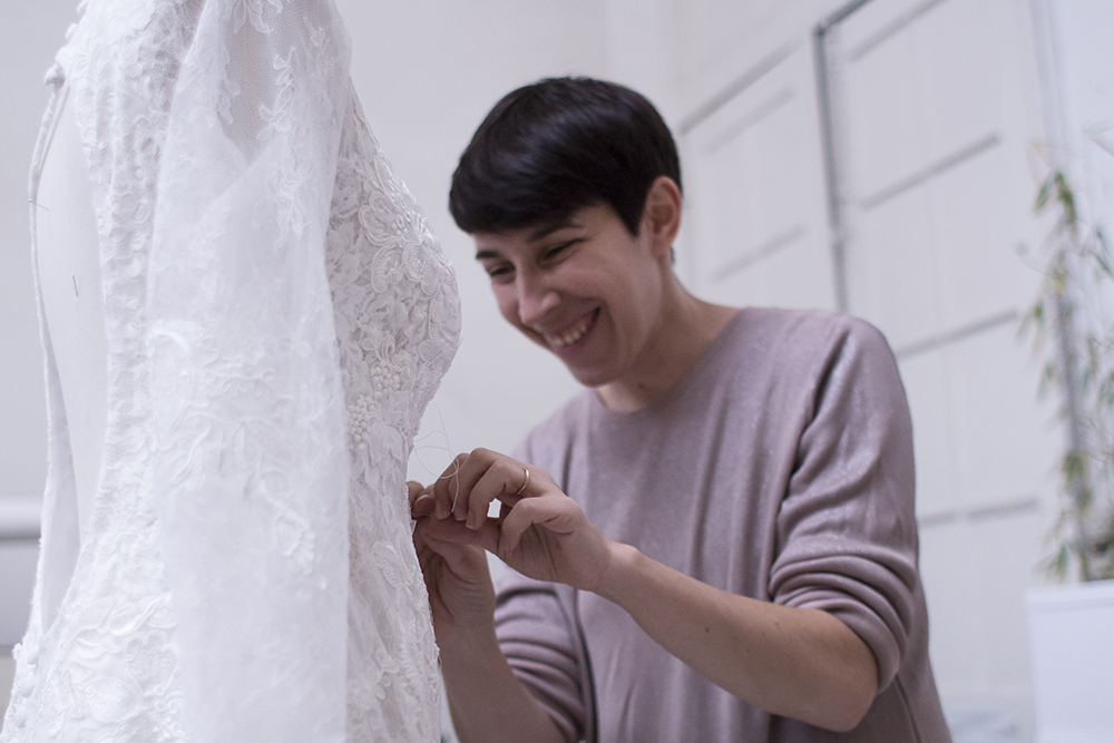 Amandine Labidoire créatrice robes de mariée