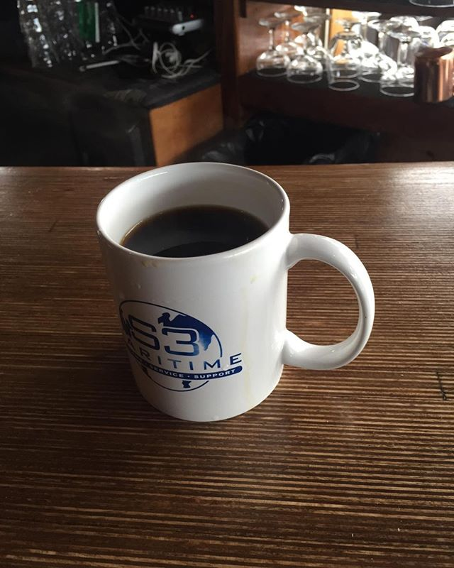 Now that's a fine cup of coffee!
