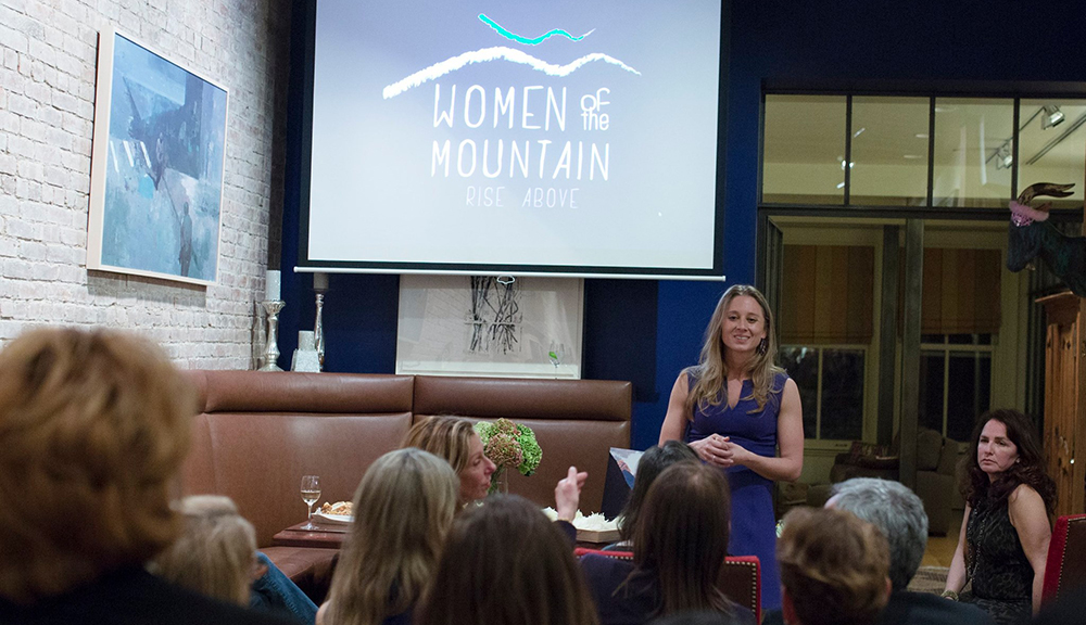 Wings World Quest host a salon talk for Women of the Mountain in Tribeca, NYC