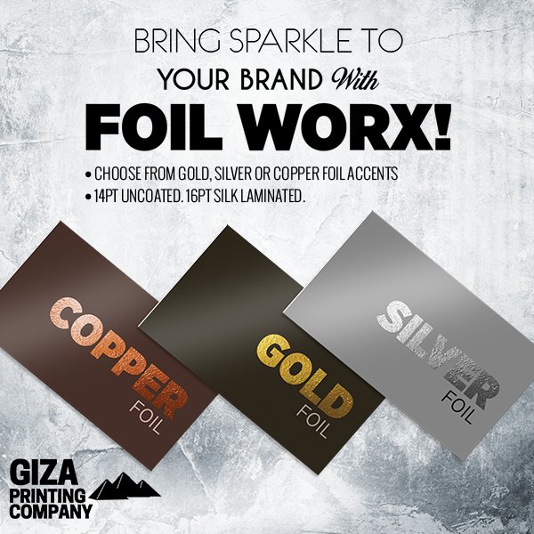 FOIL WORX BUSINESS CARDS