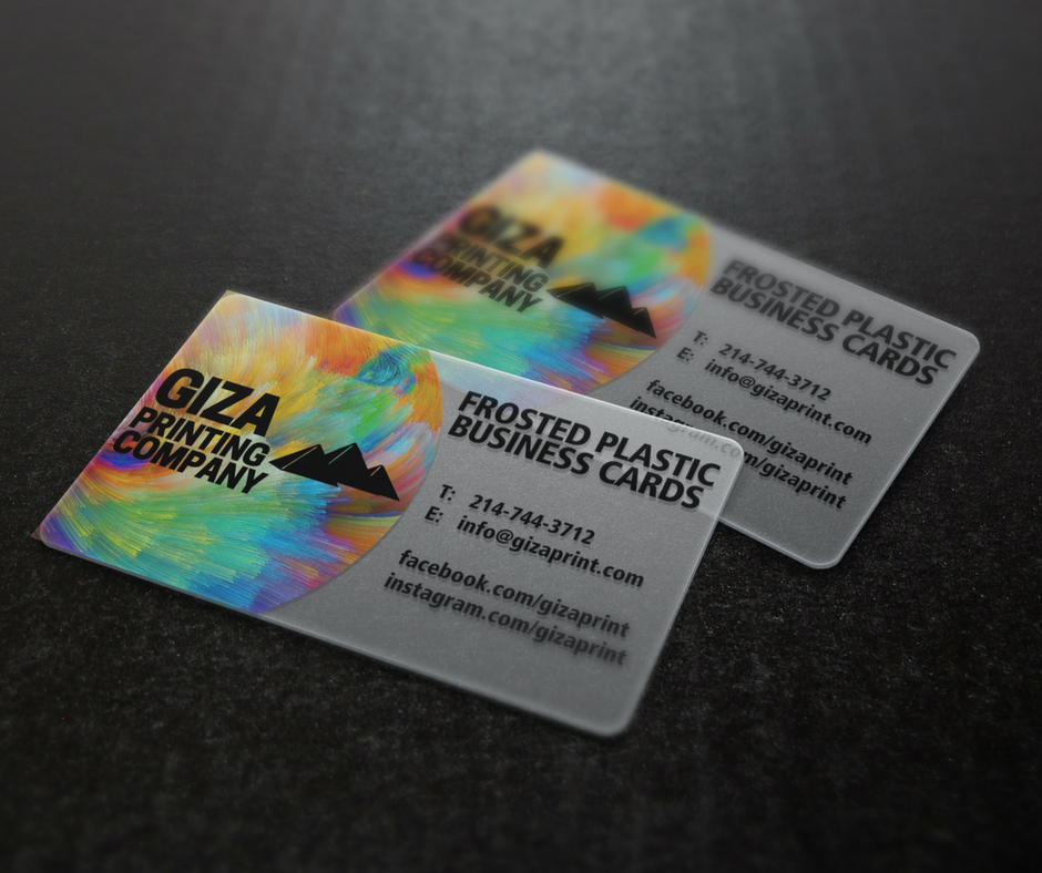 BUSINESS CARDS — GIZA PRINTING COMPANY