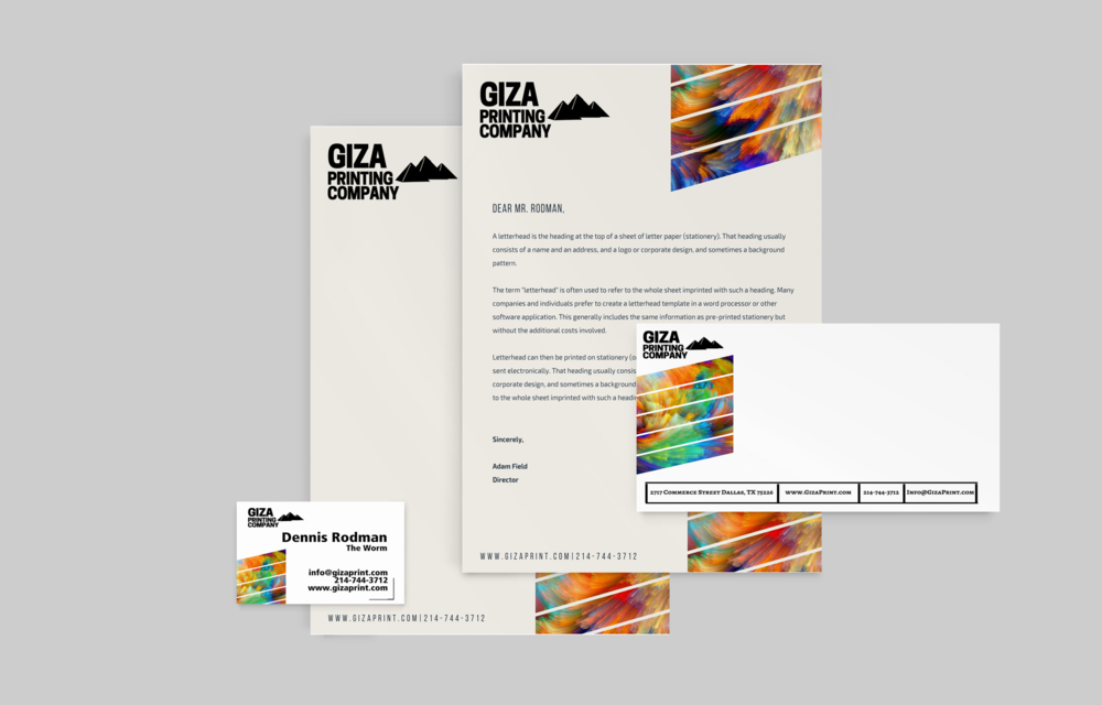 envelopes letterhead giza printing company