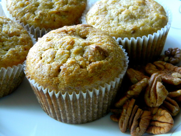 Banana nut muffin (Source:wordpress)