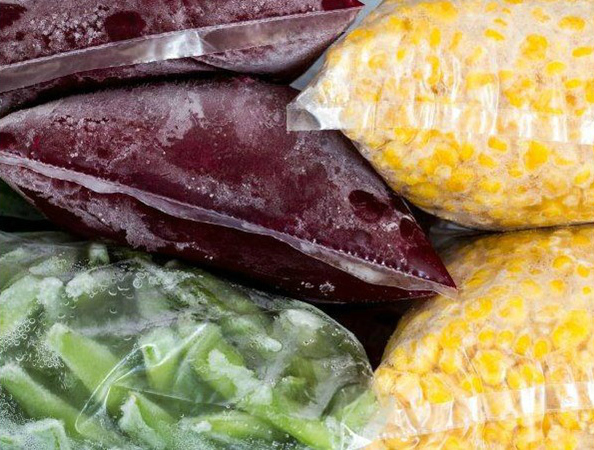 Frozen vegetables (Source:  eatright )