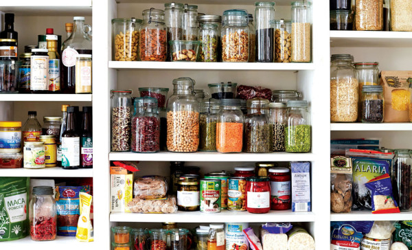 Well stocked pantry (Source:  lobsterandswan )