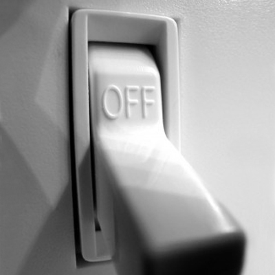 Light switch with 'OFF' (Source:timeinc)