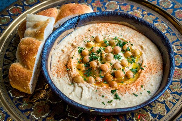 Hummus (Source: jamieoliver )