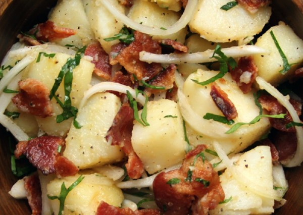 German potato salad (Source:  saveur  )