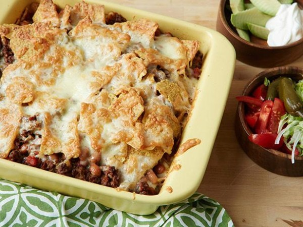 Beef and taco casserole (Source:  foodnetwork )
