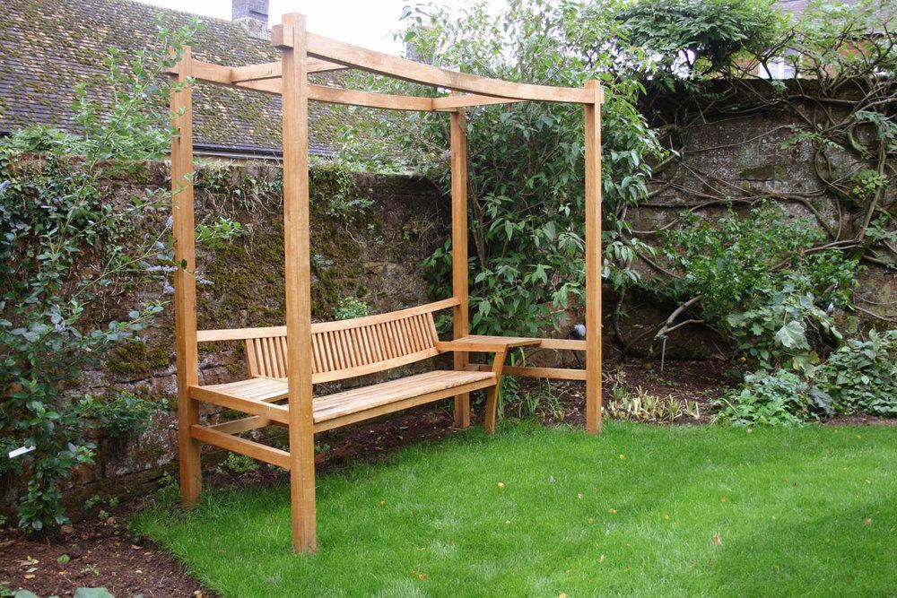Arbour garden seat