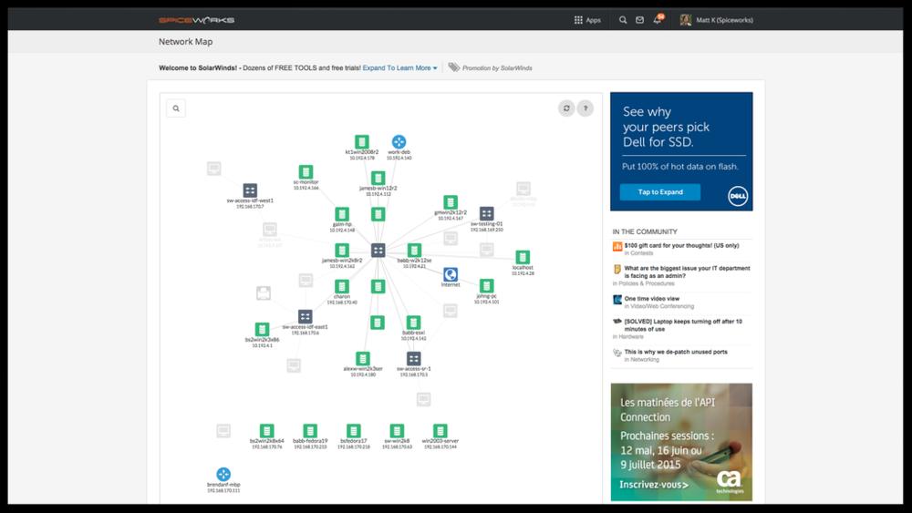 Network Map MattSnax - Network map page