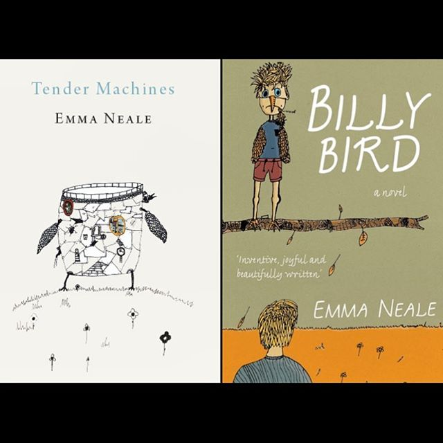 🌿Things we learnt at The 2016 Books and Writers Weekend: Both of these beautiful books were illustrated by Emma Neale's son, 14 year old Abe Baillie. . . #goingwestfest#booksandwriters#illustration#draw#artist#didyouknow#writer#weekend#reflections#novel#poet#newzealand#festival#art#bird#emmaneale#curnowreader