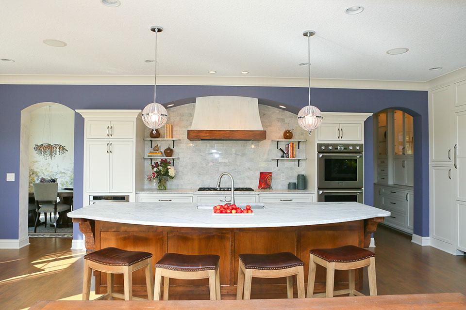 Interior Design Long Lake House 2