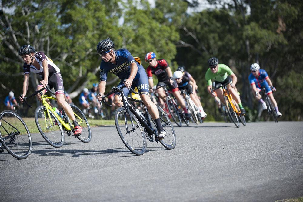 Racing At Brisbane Cycling Club