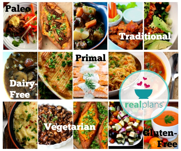 Get your meal plans made for you weekly with help from Rebel Health and Real Plans!