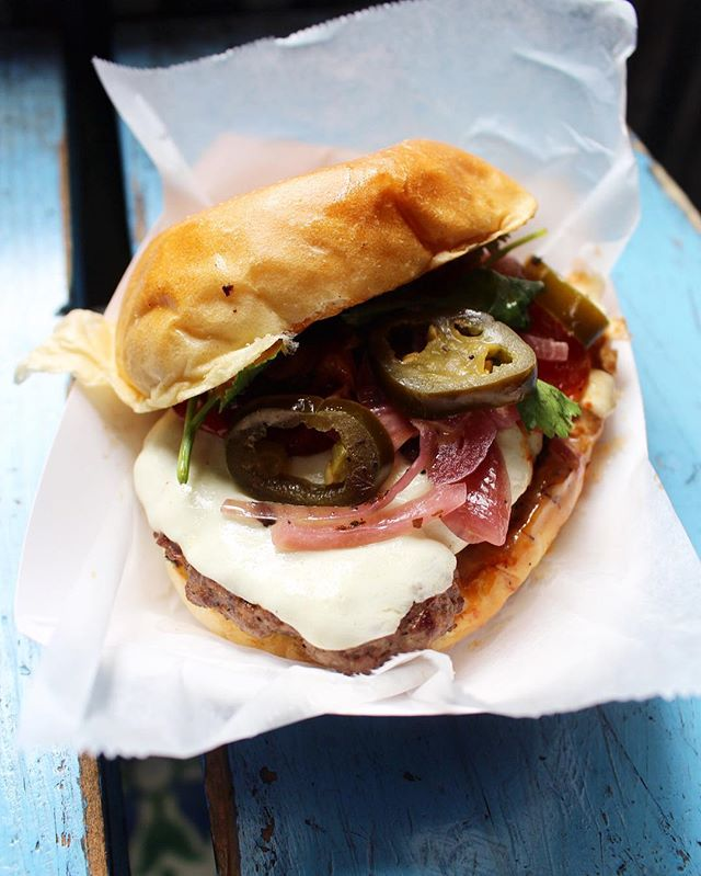 Good morning NYC!  Make it a great week with a Torta Burger for lunch!